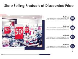 Store Selling Products At Discounted Price