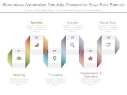 Storehouse Automation Template Presentation Powerpoint Example