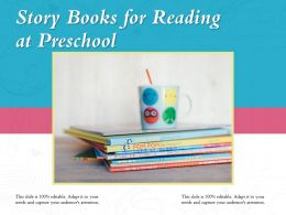 Story Books For Reading At Preschool