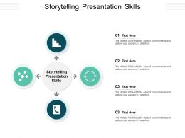 Storytelling Presentation Skills Ppt Powerpoint Presentation Infographics Graphic Images Cpb