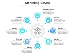 Storytelling Service Ppt Powerpoint Presentation Layouts Infographic Template Cpb