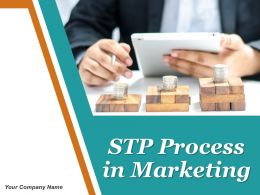 Stp Process In Marketing Powerpoint Presentation Slides