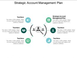 Strategic Account Management Plan Ppt Powerpoint Presentation Ideas Summary Cpb