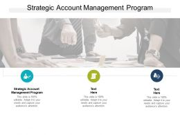 Strategic Account Management Program Ppt Powerpoint Presentation Gallery Cpb