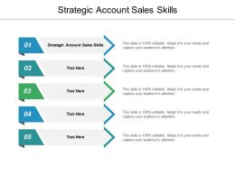 Strategic Account Sales Skills Ppt Powerpoint Presentation Layouts Graphics Template Cpb