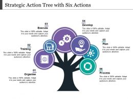 Strategic Action Tree With Six Actions