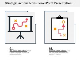 Strategic Actions Icons