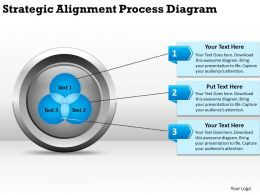Strategic Alignment Process Diagarm Ppt Powerpoint Slides