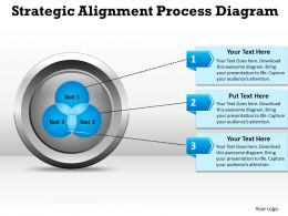 Strategic Alignment Process Diagarm templates 11