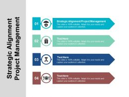 Strategic Alignment Project Management Ppt Powerpoint Presentation Summary Template Cpb