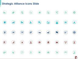 Strategic Alliance Icons Slide Ppt Powerpoint Presentation Portfolio Infographics