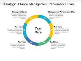 Strategic Alliance Management Performance Plan Product Development Strategies Cpb