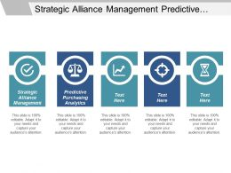 Strategic Alliance Management Predictive Purchasing Analytics Vertical Merger Cpb