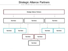 Strategic Alliance Partners Ppt Powerpoint Presentation Files Cpb