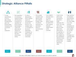 Strategic Alliance Pitfalls Pulling Key Ppt Powerpoint Presentation Summary Show