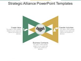 Strategic Alliance Powerpoint Templates