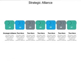 Strategic Alliance Ppt Powerpoint Presentation Icon Structure Cpb