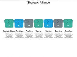 Strategic Alliance Ppt Powerpoint Presentation Icon Structure Cpb