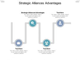 Strategic Alliances Advantages Ppt Powerpoint Presentation File Files Cpb