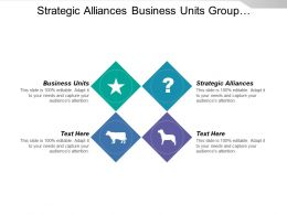 Strategic Alliances Business Units Group Organization Limited Diversification