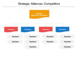 Strategic Alliances Competitors Ppt Powerpoint Presentation Slide Cpb