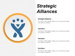 Strategic Alliances Ppt Powerpoint Presentation Icon Graphics Template Cpb