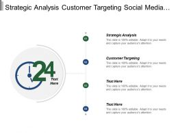 Strategic Analysis Customer Targeting Social Media Content Marketing