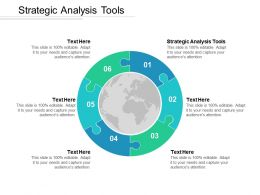 Strategic Analysis Tools Ppt Powerpoint Presentation Show Visual Aids Cpb