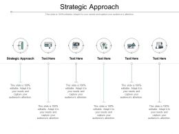 Strategic Approach Ppt Powerpoint Inspiration Graphics Template Cpb