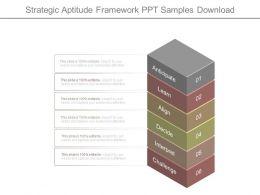 Strategic Aptitude Framework Ppt Samples Download