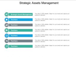 Strategic Assets Management Ppt Powerpoint Presentation Model Deck Cpb