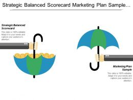 Strategic Balanced Scorecard Marketing Plan Sample Quick Marketing Strategy Cpb
