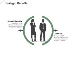 Strategic Benefits Ppt Powerpoint Presentation Gallery Outline Cpb