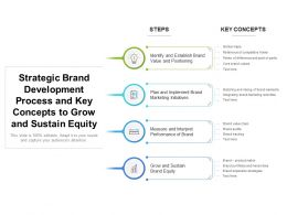 Strategic Brand Development Process And Key Concepts To Grow And Sustain Equity