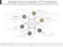 Strategic Brand Leadership Ppt Infographics