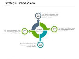 Strategic Brand Vision Ppt Powerpoint Presentation Model File Formats Cpb