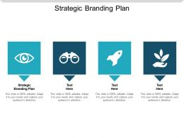 Strategic Branding Plan Ppt Powerpoint Presentation Styles Mockup Cpb