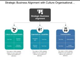 Strategic Business Alignment With Culture Organisational Capabilities And Communication