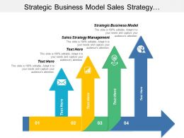 Strategic Business Model Sales Strategy Management Implementation Management Cpb