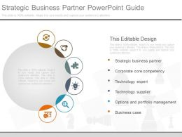 Strategic Business Partner Powerpoint Guide