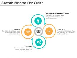 Strategic Business Plan Outline Ppt Powerpoint Presentation Icon Graphics Tutorials Cpb