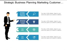 Strategic Business Planning Marketing Customer Loyalty Business Management Cpb