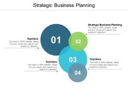 Strategic Business Planning Ppt Powerpoint Presentation Icon Slide Cpb