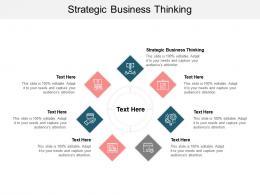 Strategic Business Thinking Ppt Powerpoint Presentation Portfolio Example Topics Cpb