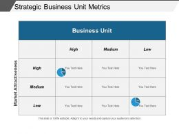 Strategic Business Unit Metrics Powerpoint Show