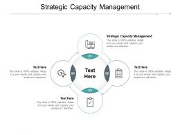 Strategic Capacity Management Ppt Powerpoint Presentation Show Designs Cpb