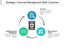 Strategic Channel Management B2b Customer Portal Vendor Management Risks Cpb