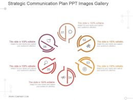 Strategic Communication Plan Ppt Images Gallery