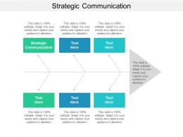 Strategic Communication Ppt Powerpoint Presentation Show Shapes Cpb