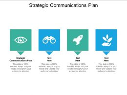 Strategic Communications Plan Ppt Powerpoint Presentation Slides Gridlines Cpb